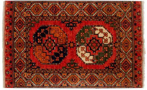 3×5 Ersari Rust Oriental Rug 048894
