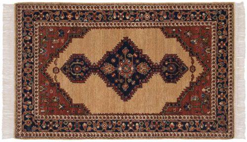3×5 Hamadan Beige Oriental Rug 020586