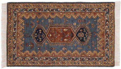 3×5 Hamadan Blue Oriental Rug 020854