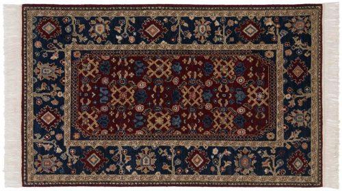 3×5 Hamadan Burgundy Oriental Rug 020619