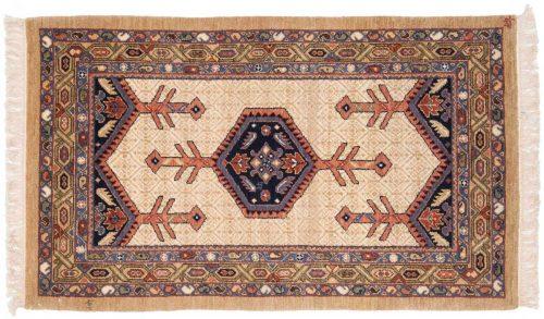 3×5 Hamadan Ivory Oriental Rug 021020