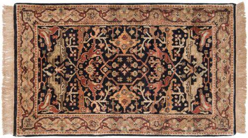 3×5 Heriz Black Oriental Rug 037769