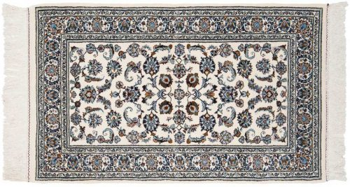 3×5 Isfahan Ivory Oriental Rug 043148