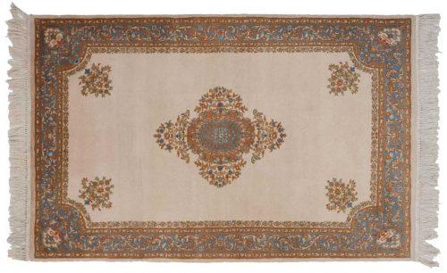 3×5 Savonnerie Ivory Oriental Rug 023330