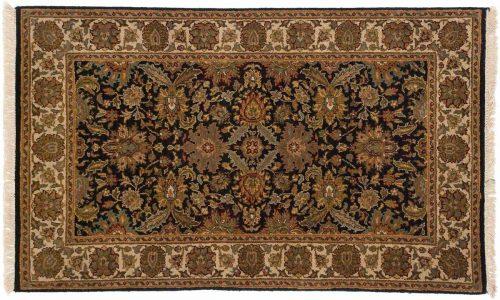3×5 Jaipur Black Oriental Rug 042638