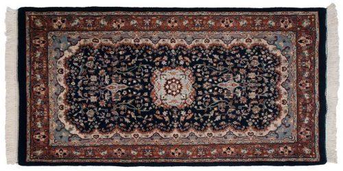 3×5 Kashan Blue Oriental Rug 023994
