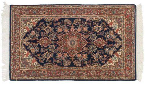 3×5 Kashan Blue Oriental Rug 045963