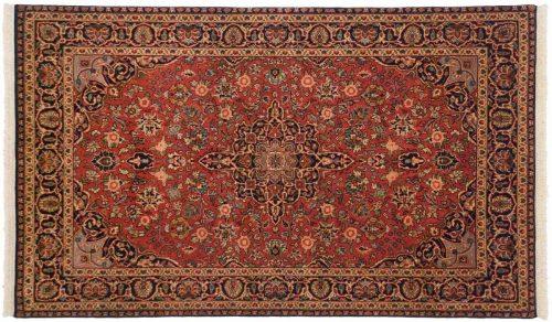 3×5 Kashan Red Oriental Rug 042633