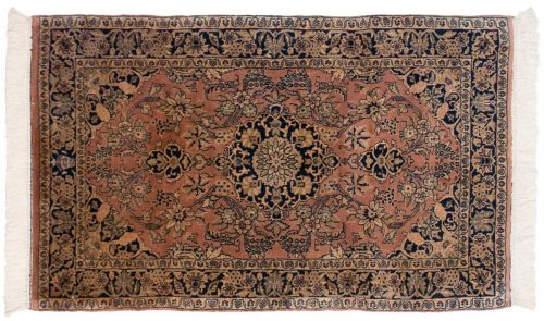 3×5 Kashan Rose Oriental Rug 030913