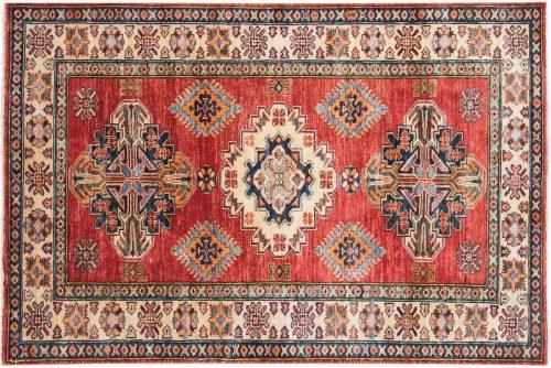 3×5 Kazak Red Oriental Rug 047316