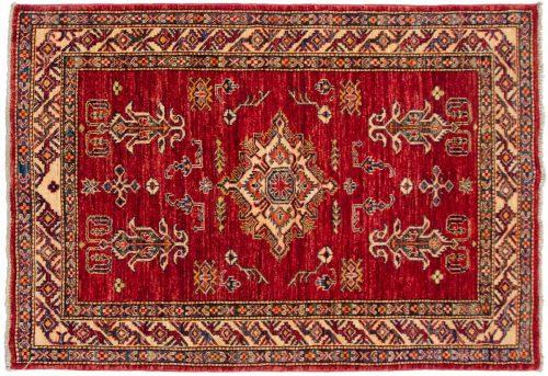 3×5 Kazak Red Oriental Rug 048438