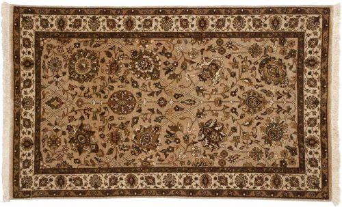 3×5 Mahal Beige Oriental Rug 042563