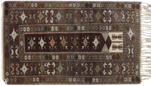 3×5 Melas Brown Oriental Rug 012399