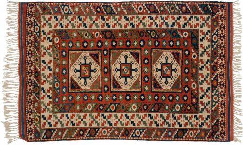 3×5 Caucasian Multi Color Oriental Rug 034615