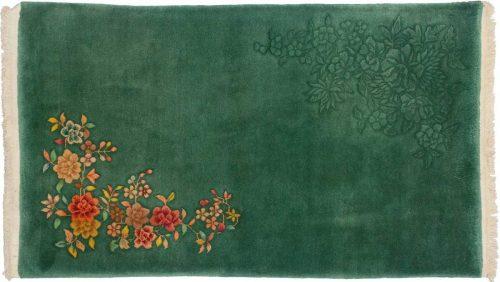 3×5 Nichols Green Oriental Rug 014038