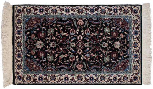 3×5 Kerman Black Oriental Rug 020164