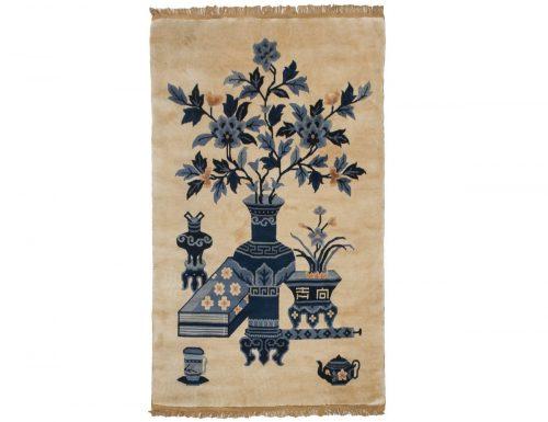 3×5 Peking Ivory Oriental Rug 017848