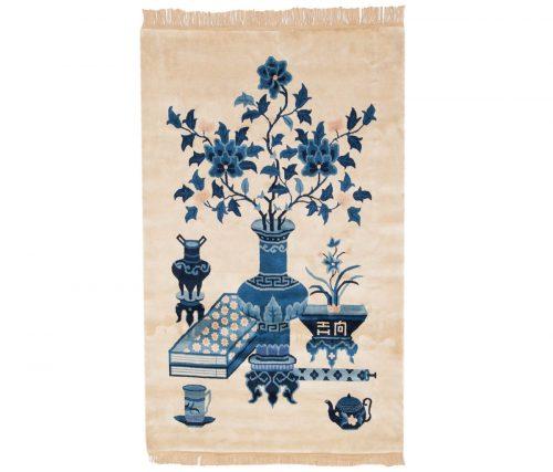 3×5 Peking Ivory Oriental Rug 017900
