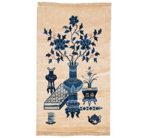 3×5 Peking Ivory Oriental Rug 017901