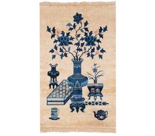 3×5 Peking Ivory Oriental Rug 017902