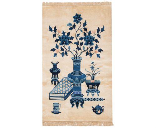 3×5 Peking Ivory Oriental Rug 017903