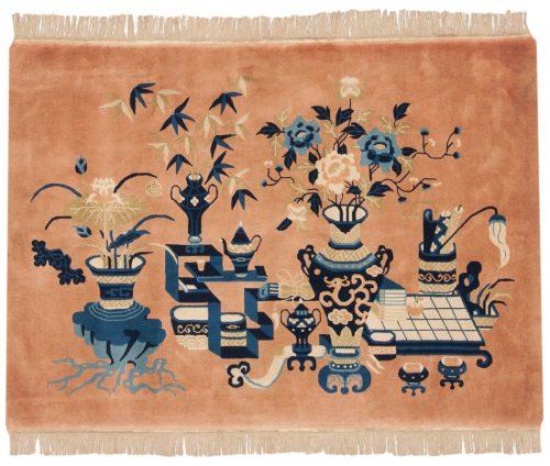 3×5 Peking Rust Oriental Rug 017882