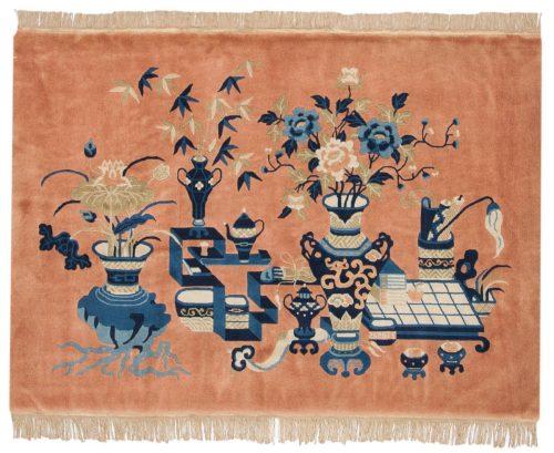 3×5 Peking Rust Oriental Rug 017883