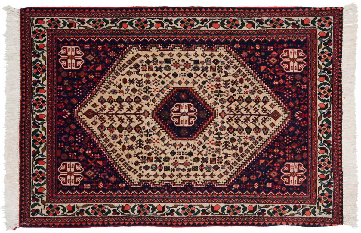 3 5 Persian Abadeh Beige Oriental Rug 013684 Carpets By Dilmaghani