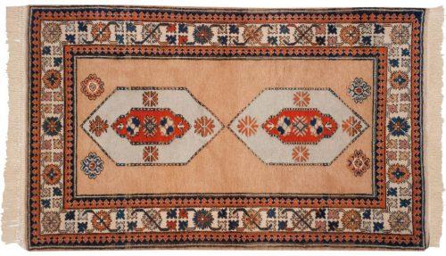 3×5 Persian Ardebil Beige Oriental Rug 013506