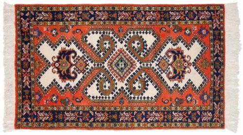 3×5 Persian Ardebil Ivory Oriental Rug 035537