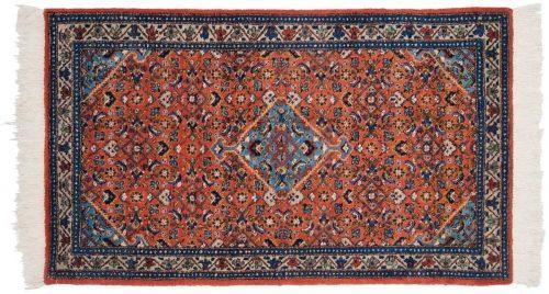 3×5 Persian Ardebil Rust Oriental Rug 035053