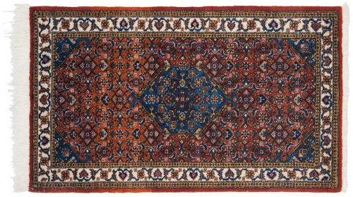 3×5 Persian Ardebil Rust Oriental Rug 035058