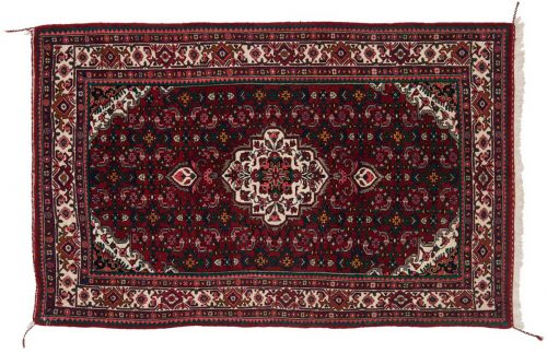 3×5 Persian Bijar Red Oriental Rug 034952