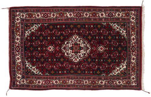 3×5 Persian Bijar Red Oriental Rug 034952