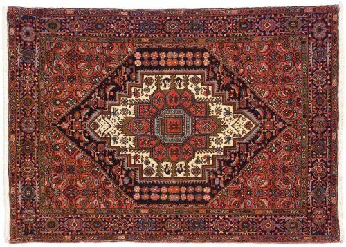 3×5 Persian Goultug Rust Oriental Rug 014239
