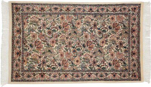 3×5 Floral Ivory Oriental Rug 025961