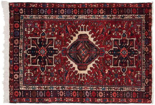 3×5 Persian Karaja Red Oriental Rug 034853