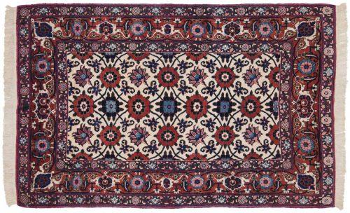 3×5 Persian Veramin Ivory Oriental Rug 013501