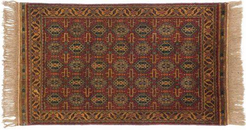 3×5 Caucasian Red Oriental Rug 038101