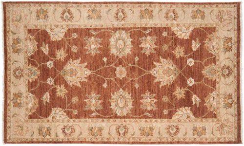 3×5 Caicasian Rust Oriental Rug 042518