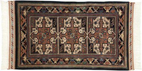 3×5 Saddlebag Ivory Oriental Rug 036791