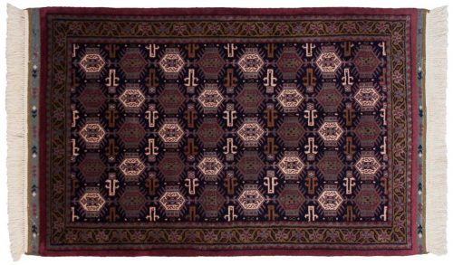 3×5 Saddlebag Blue Oriental Rug 036881