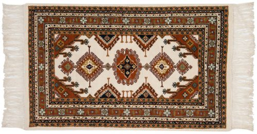 3×5 Salore Ivory Oriental Rug 014532