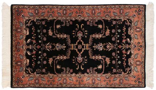 3×5 Sarouk Black Oriental Rug 031364