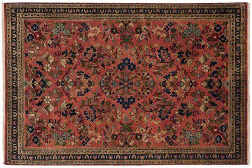 3×5 Sarouk Red Oriental Rug 042617