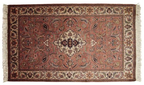 3×5 Sarouk Rose Oriental Rug 024205