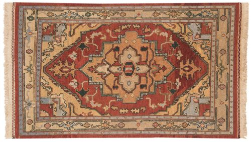 3×5 Serapi Burgundy Oriental Rug 012619