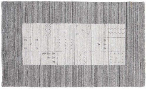 3×5 Gabbeh Silver Oriental Rug 046971