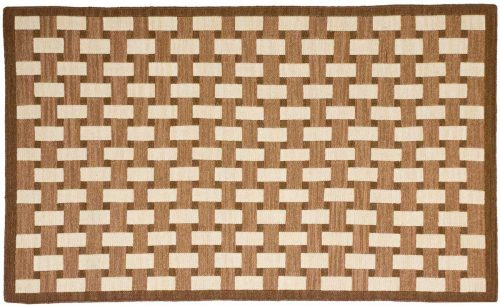 3×5 Soumak Brown Oriental Rug 043901