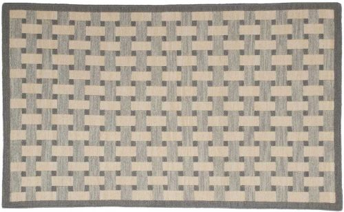3×5 Soumak Grey Oriental Rug 043900